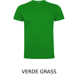 Camiseta manga corta premium unisex color verde grass
