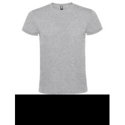 Camiseta manga unisex corta color gris vigoré